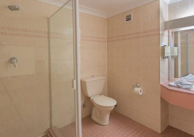 Standard Economy Bathroom copy 3 400x284 - Standard Queen