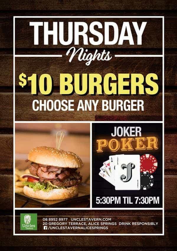 Thursday - Uncles Tavern