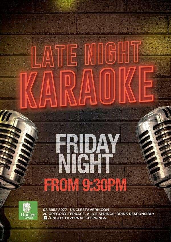 Karaoke - Uncles Tavern