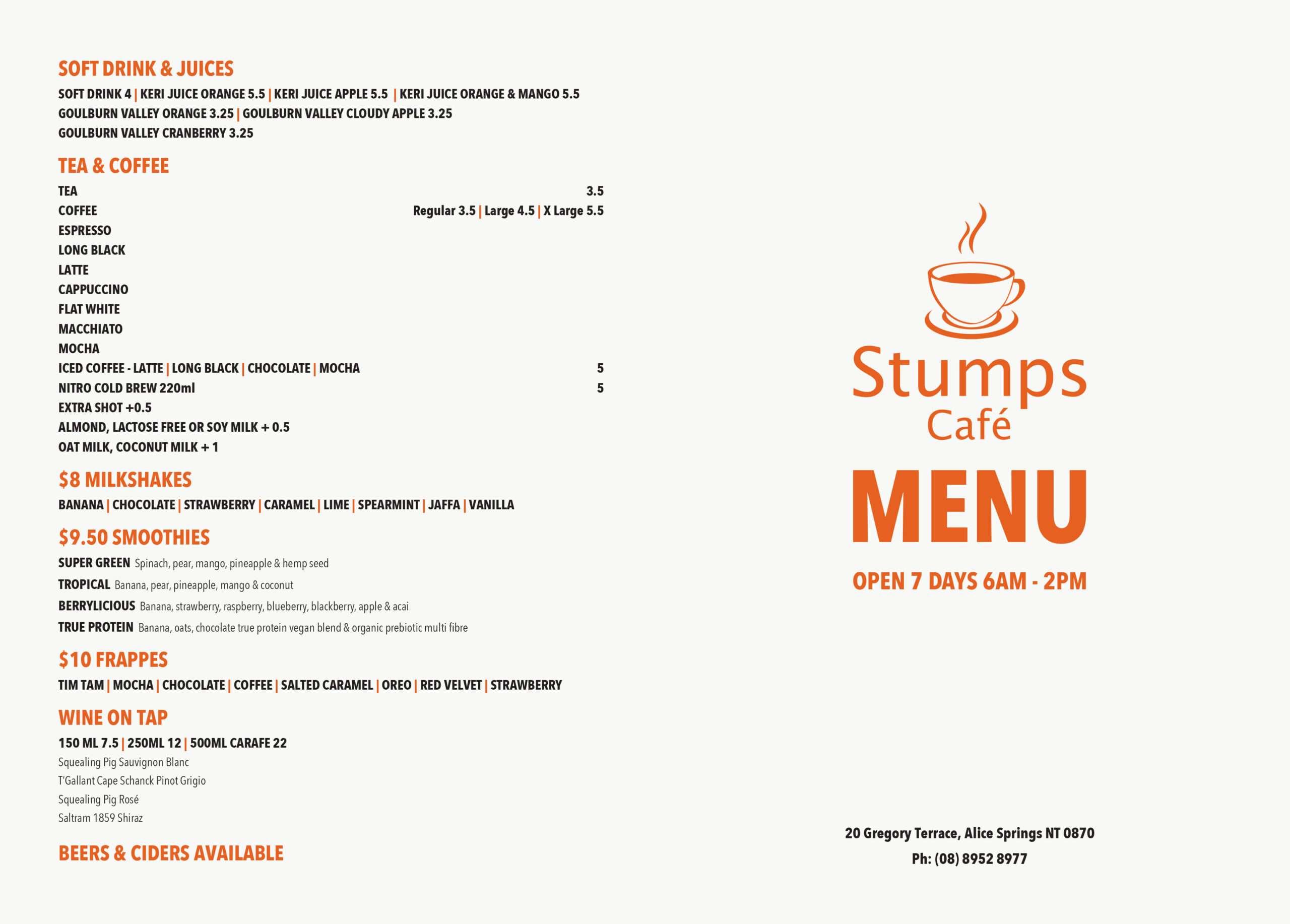 STUMPS MENU NEWf WEB scaled - Stumps Café